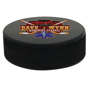 Inglasco Hockey Puck, Official Weight And Size